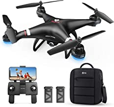 Holy Stone GPS Drone with 1080P HD Camera FPV Live Video for Adults and Kids, Quadcopter HS110G with Carrying Bag, 2 Batte...
