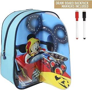 Takestop® - Mochila con diseño de Mickey Mouse, Mickey Mouse, de Disney, de 31 cm, para la playa, la escuela o el almuerzo
