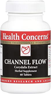 Health Concerns - Channel Flow - Modified Huo Luo Xiao Ling Dan - Corydalis Extract Chinese Herbal Supplement - Pain Relief and Relaxation Support - with Corydalis Rhizome Extract - 60 Tablets per Bottle