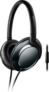 Philips Flite Everlite Over Ear Headphones - White + Rose Gold (SHL4805RG/27) Black + Dark Chrome