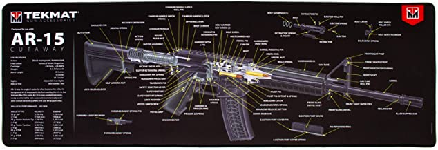 TekMat Ultra Cutaway Gun Mat for use with AR-15