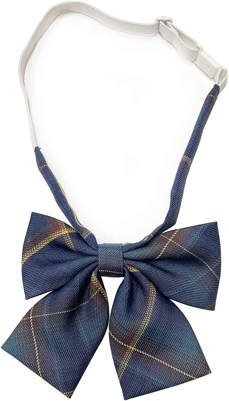 CJK Cravats, Elegant Bow, Buckle Design, Adjustable Bow Tie, Suitable for Birthdays, Parties, Dance Parties, Hotels