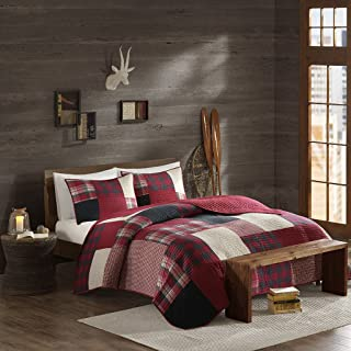 Woolrich Sunset Coverlet Mini Set Cal King Red, King King