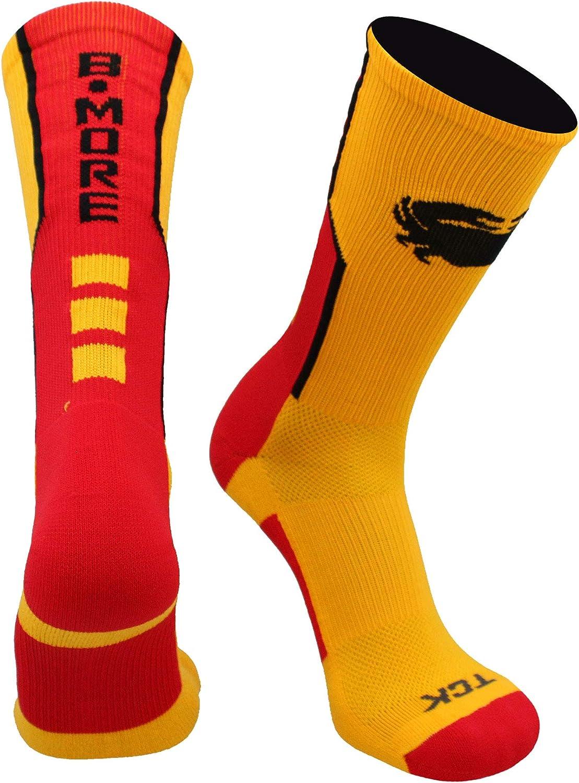 TCK Baltimore Socks Crew Length Bmore Strong Socks