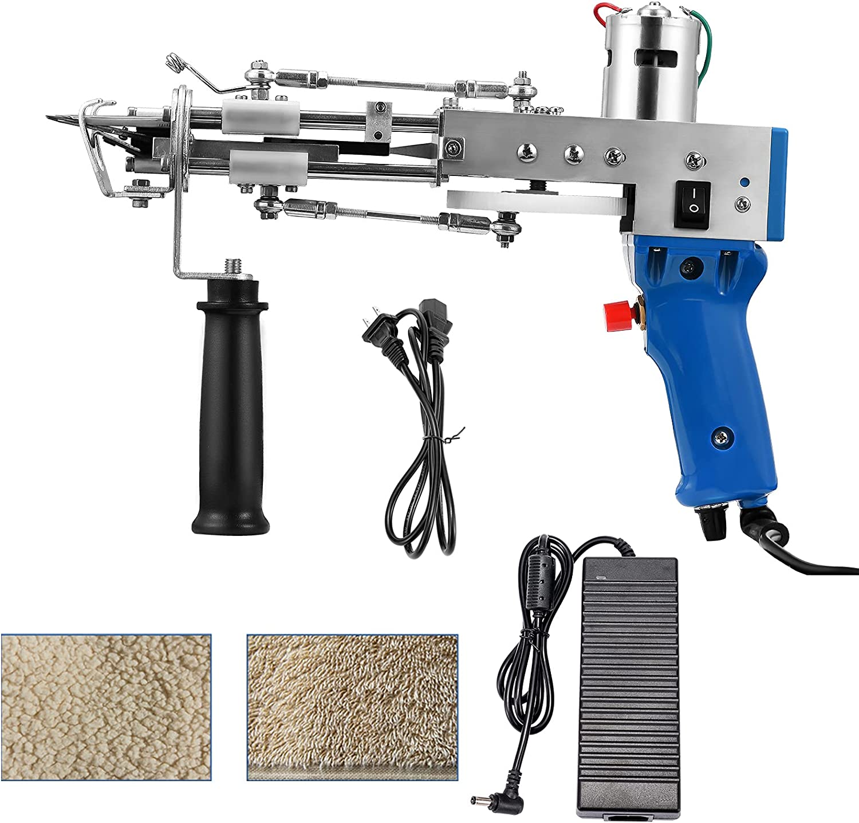 XNJHMS Electric Max 66% OFF Carpet Tufting Professional SALENEW very popular Weaving Gun