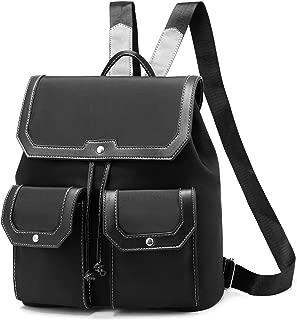 Fashion Backpack Nylon Purse Drawstring Lightweight Shoulder Bookbag for Teen Girls Boys Ladies Handbag Anti-Theft Bags