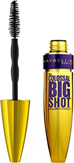 Maybelline New York Volum' Express The Colossal Big Shot Washable Mascara - 9.5 ml, Blackest Black