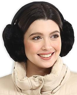 محافظ گوش زنانه - گرم کننده گوش / روکش گوش زمستانی - محافظ گوش پشم گوسفند وجانوران دیگر برای آب و هوای سرد