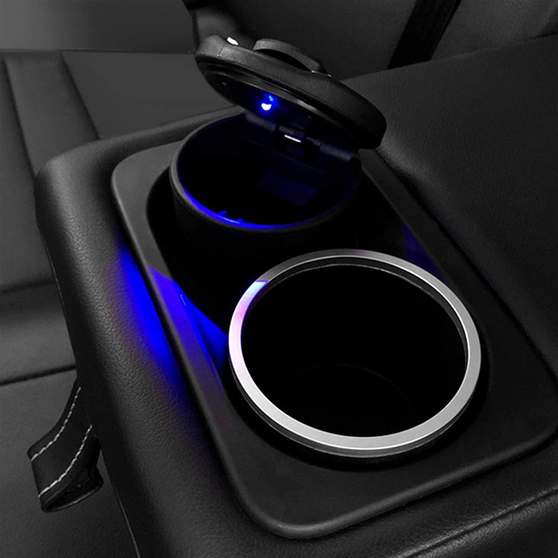 NLJYSH 1PC Auto-LKW-LED Zigarettenrauch Aschenbecher Licht for KIA Rio Sid Seele Sportage Ceed Sorento Cerato K2 K3 K4 K5 Zubeh/ör Color Name : for KIA