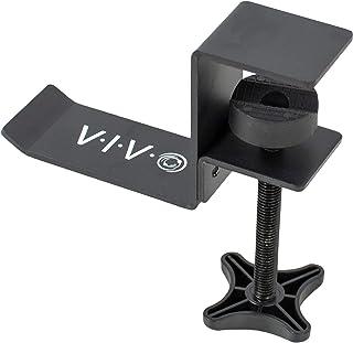 VIVO Steel Clamp-on Headphone Holder, Under Desk Mount Heads