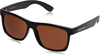 Fastrack UV Protected Wayfarer Men's Sunglasses - (P425BR1|56|Brown Color Lens)