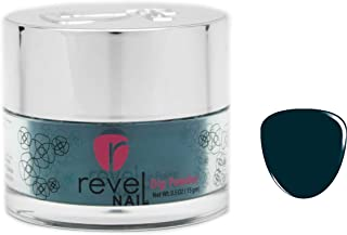 Revel Nail Dip Powder | for Manicures | Nail Polish Alternative | Non-Toxic, Odor-Free | Crack & Chip Resistant | Vegan, Cruelty-Free | Can Last Up to 8 Weeks | 0.5oz Jar | Cream | Privacy