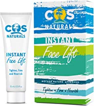 COS Naturals Instant Face Lift Firming Cream for Wrinkles Fine Lines Under Eye Puffiness..