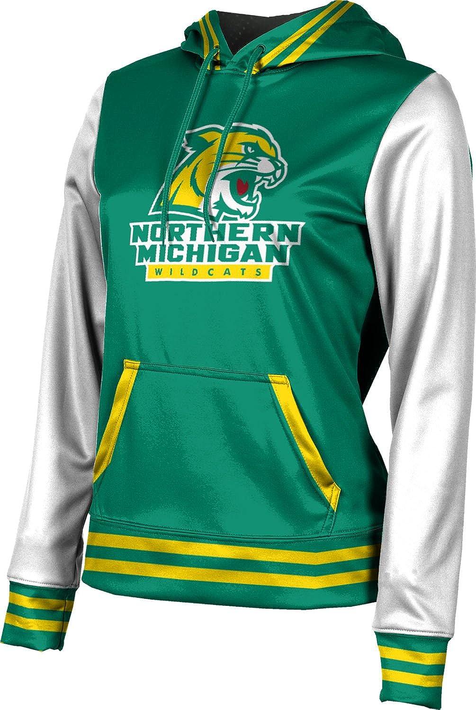 ProSphere Northern Michigan University Girls' Pullover Hoodie, School Spirit Sweatshirt (Letterman)
