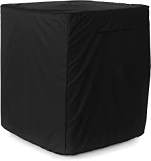 Covermates - Air Conditioner Cover – AC Cover for Outdoor Protection - Water Resistant and Weatherproof - Ripstop Black