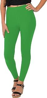 Women's Cotton Footless Leggings   Stretch   Cotton, Metallic   Adult Small - 5X