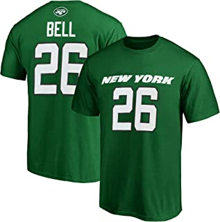 Outerstuff NFL Youth 8-20 Team Color Polyester Performance Mainliner Player Name and Number Jersey T-Shirt