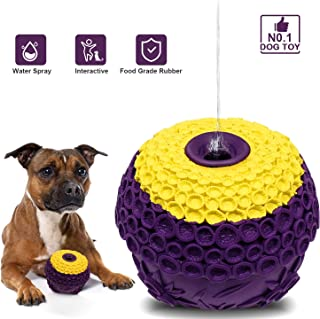 Fairwin Ultra-Durable Dog Chew Toys for Aggressive Chewer - Indestructible Tough Dog Toys for Boredom - Lifetime Replacement Guarantee - Pet Bite Resistant Water Cooling Toys for Medium Large Breed