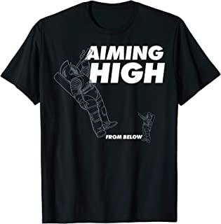 Netflix Space Force Aiming High From Below T-Shirt