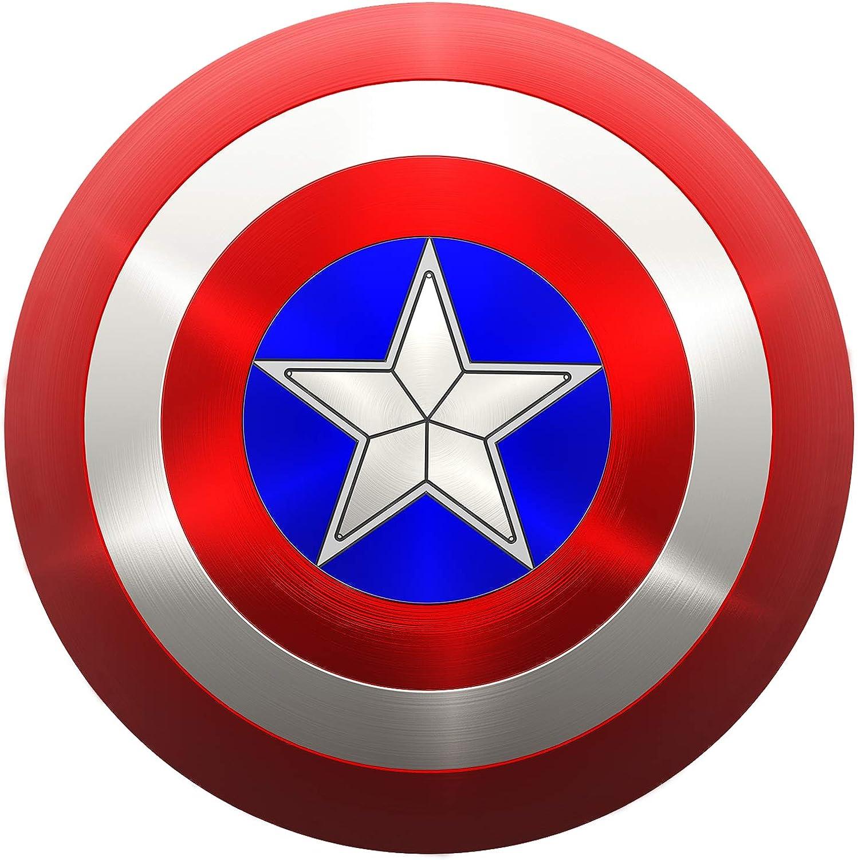 Buy Metal Captain America Shield Captain America Adult Shield 20 ...