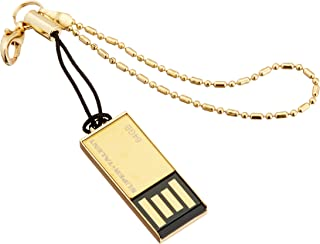 Super Talent Pico-C 64 GB Gold Limited Edition USB 2.0 Flash Drive, Rugged and Water Resistant (STU64GPCG)