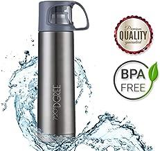 720°DGREE Thermoskanne Follow 700ml | Premium Thermosflasche | Edelstahl Isolierkanne mit Becher für Unterwegs | Neuartige Isolierflasche Perfekt fürs Kaffee & Tee