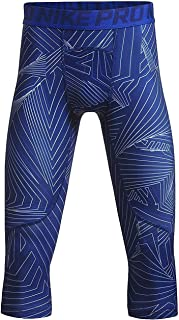 Boys Cool Hbr Compression 3/4 Tight Youth (Little Big Kids)