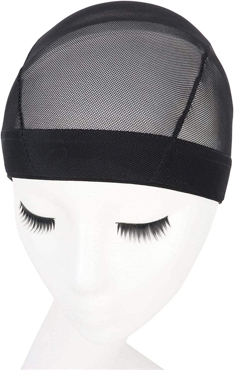 1-10 Dome Type Mesh Wig Caps for Wigs Elastic Cap Ranking Max 59% OFF TOP7 Knit Black Ela