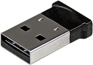 StarTech.com Bluetooth Adapter - Mini Bluetooth 4.0 USB Adapter - 50m/165ft Wireless Bluetooth Dongle - Smart Ready LE+EDR (USBBT1EDR4)