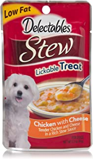 Hartz Delectables Stew Chicken with Cheese Lickable Dog Treat - 60 g