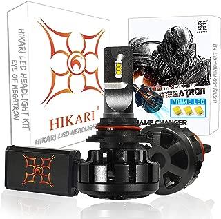 HIKARI Ultra LED Headlight Bulbs Conversion Kit-9012, Prime LED 12000lm Cool White 6000K