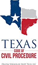 Texas Rules of Civil Procedure: 2017