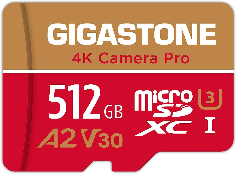 gigastone 4k camera pro micro sd card