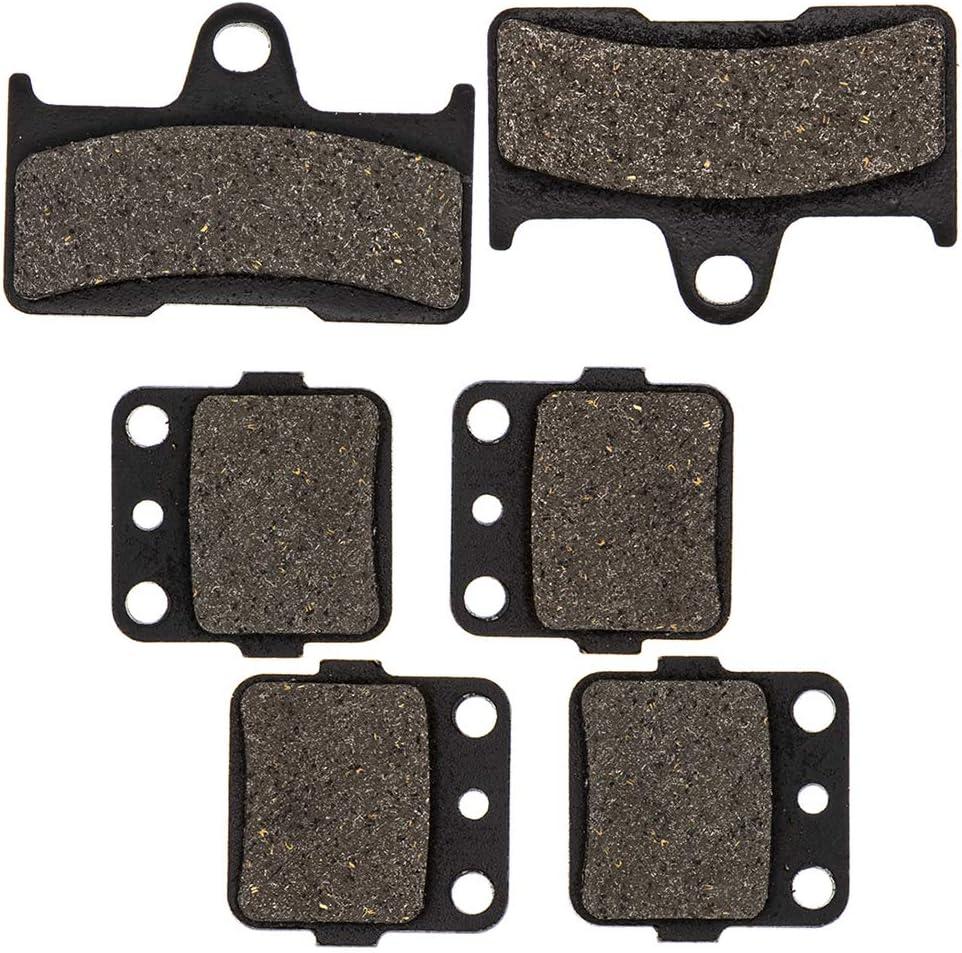 NICHE Arlington Mall Brake Pad Kit for Yamaha 4WV-W0045-00-00 660 Max 58% OFF 5KM-W Grizzly