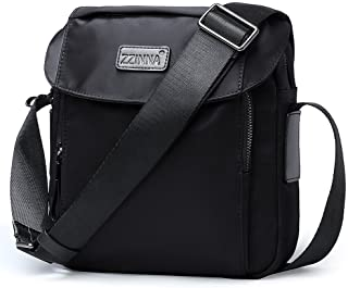 ZZINNA Small Messenger Bag Anti Theft Shoulder Bag Cross Body Bags Waterproof Travel Purse Man Bag for Work Business Outdoors