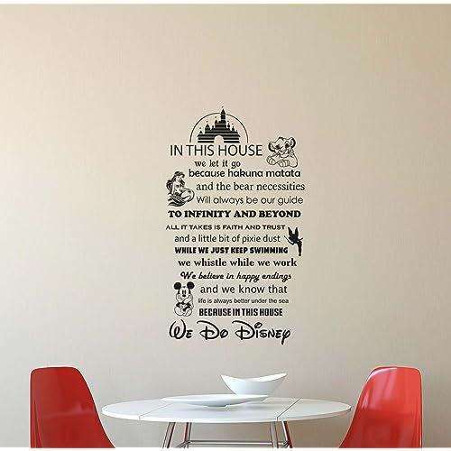 Disney Wall Quotes Amazoncom