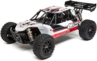 Losi Mini 8Ight 1/14 Scale Rc Db Desert Buggy RTR with 2.4Ghz Radio Tx | SRX200 2-Ch RX | Waterproof Bl 25A ESC | 7.2V 1200mAh NiMH Battery | Battery Charger, LOS01009T1 (White)
