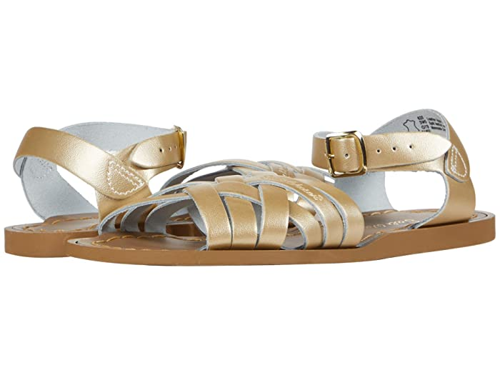 Salt Water Sandal by Hoy Shoes  Retro (Toddler/Little Kid) (Gold) Girls Shoes