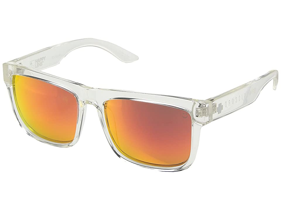 Spy Optic Discord (Clear/Happy Gray Green/Red Spectra) Sport Sunglasses