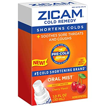Amazon Com Zicam Natural Elderberry Cold Remedy Medicated