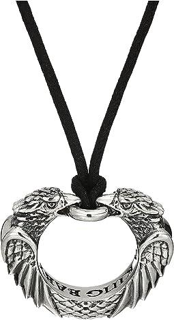King Baby Studio - Double Eagle Circular Pendant Necklace