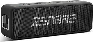 Bluetooth スピーカー ZENBRE Boost、Bluetooth5.0スピーカー【20H再生時間 /IPX7 防水/20Wドライバー/TWS/3H急速充電・Type-c対応、ポータブル、マイク搭載、TFカード/AUX線】ワイヤレス/ポータブルお風呂/アウトドア