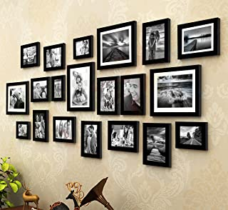 Painting Mantra Art Street - King And Queen Set Of 20 Individual Photo Frame,8X10-4, 6X8-2 4X6-4, 5X7-10