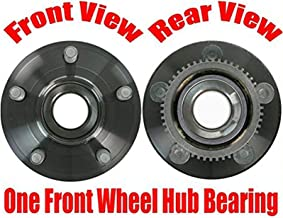 100% New Wheel Bearing Hub Assembly (1) FRONT Fits For 2015-2017 Ford Mustang NEW