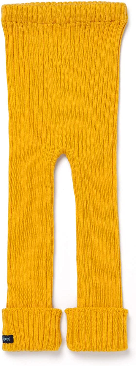 Ella's Wool Tubes - Soft, Thick and Eco-Friendly 100% Merino Wool - Yellow