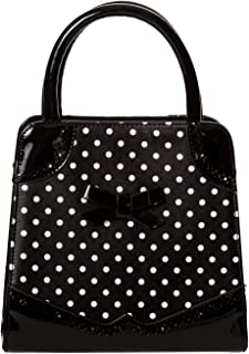Dancing Days Hands Off My Polka Bag 50's Top Handle Handbag