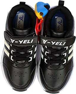 BOLDNYOUNG Yeli Kids Sports Shoes for Boys 6-7 Years
