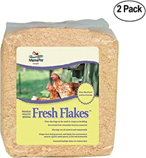 Manna Pro Fresh Flakes Poultry Bedding, 12-Pounds - 2 Pack