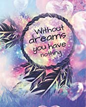 Without Dreams You Have Nothing: Professional 2020 Dated Planning Planner Weekly and Monthly (Jan-Dec) Professional Academic Calendar Schedule ... Startup Basics in Entrepreneurial Skills