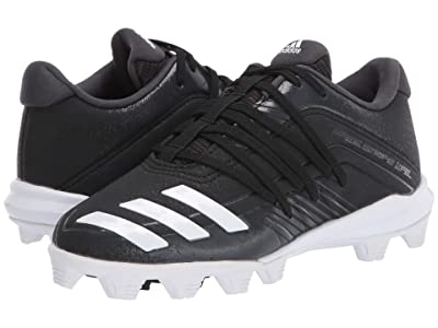 adidas Kids Afterburner 6 MD K Baseball (Toddler/Little Kid/Big Kid) (Black/White/Carbon) Kids Shoes